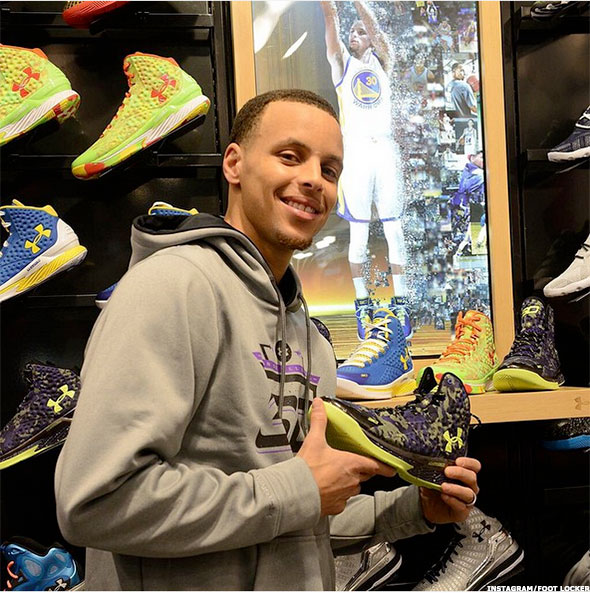 fbb400528bcc Happy Birthday to the Foot Locker 3-Point Champ  wardell30!  TeamApproved