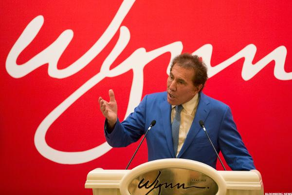 Wynn Stock Jumps as Investors Bet on Macau Palace Success