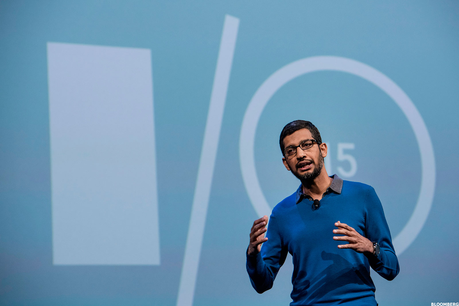 google ceo sundar pichai u0026 39 s i  o developers conference