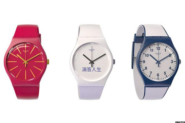 Swatch Rises Despite Tough Time in Second Quarter