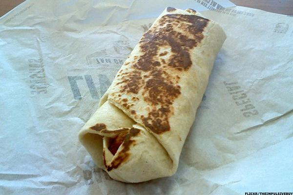 Here Comes Taco Bell's Hotly Anticipated Naked Chalupa