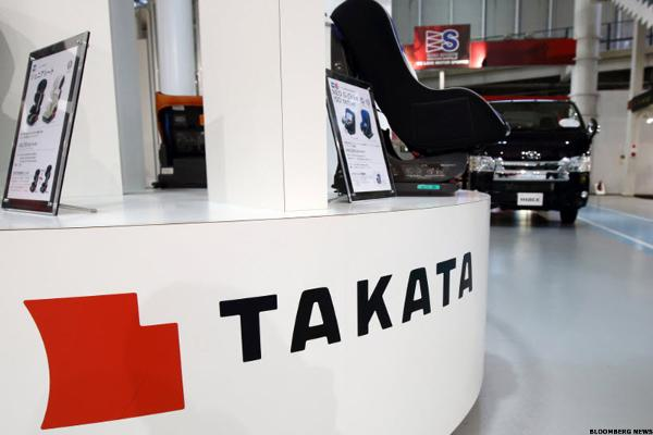 Automakers Reach $553 Million Settlement Over Takata Class-Action Suit