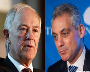 United and American -- Chicago's Mayor Has Their Backs