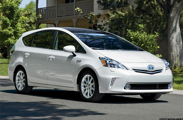 Tie: 2015 Ford Fusion Hybrid, Lexus CT200h And Toyota Prius V