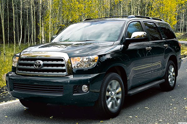 Toyota Sequoia Starting Price: $47,620. EPA Combined City And Highway  Mileage: 15 Mpg