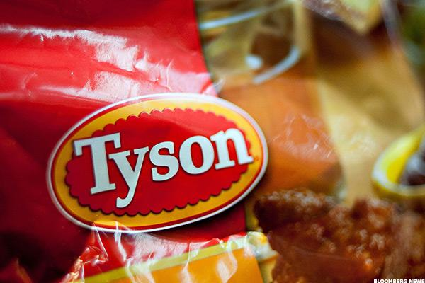 Tyson Foods Stock Lower on Rating Downgrade, Bird Flu