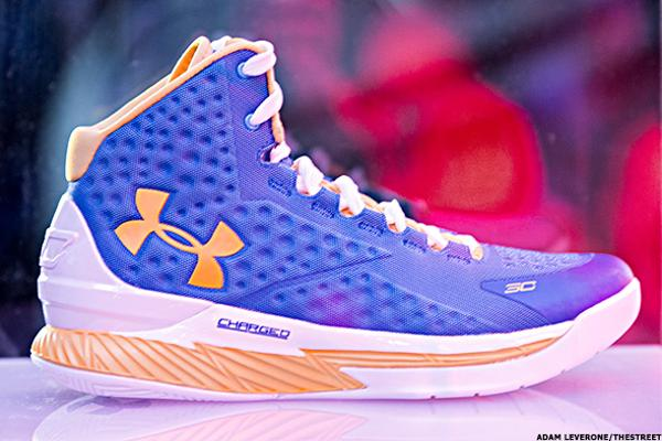acdc99f1853 These 5 Simple Photos Show Why Sales of Under Armour's (UA) Stephen Curry  Basketball Sneakers Have Slowed - TheStreet