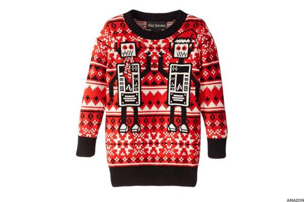 robots ugly christmas sweater - Offensive Ugly Christmas Sweater