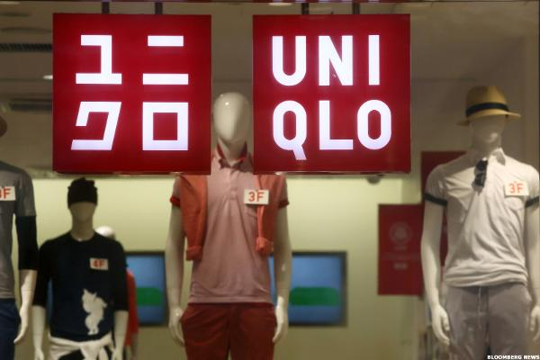 Uniqlo Parent Fast Retailing Drops as Sales Growth Slows