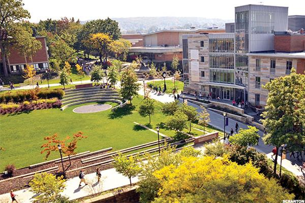 11. University of Scranton
