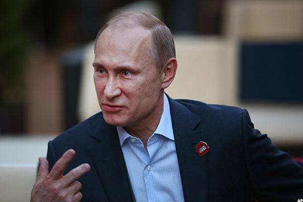 Here's Why It May Be Time to 'Short' Vladimir Putin