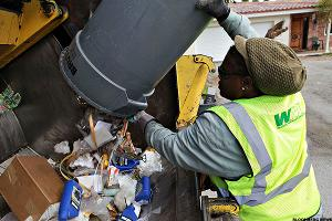 Waste Management (WM) is Dis-Investing in Recycling as It Becomes Less Profitable
