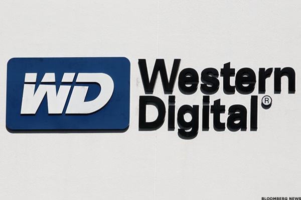 Western Digital Jumps After Correction