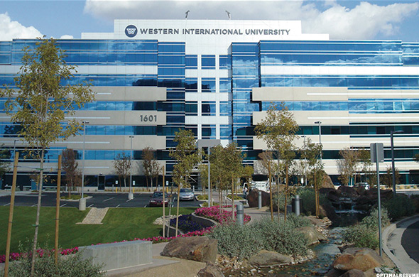 أسهل الجامعات التي يمكنك الحصول على قبول منها في امريكا - الغربية الدولية