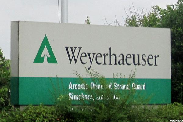 Reaction to Weyerhaeuser (WY) 'Buy' Rating at Goldman