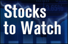 Stocks to Watch: Facebook, RIM (Update 1)