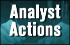 Analysts' Actions: CAT, HOT, VVUS, AMGN