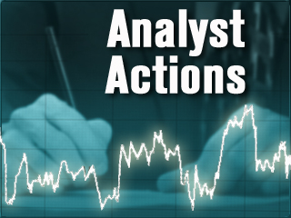 Analysts' Actions: AWK GS PHM NVE QCOR X