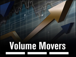 5 Stocks Rising on Monster Volume